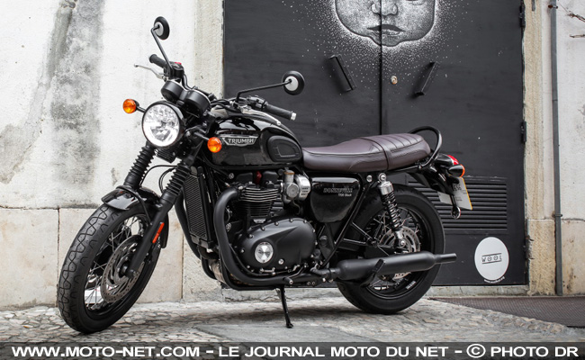 tous les tests essai triumph bonneville t120 bonnie tout faire. Black Bedroom Furniture Sets. Home Design Ideas