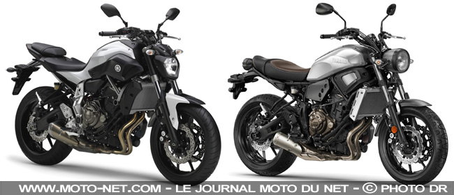 tous les tests essai xsr700 yamaha surfe la vague du n o r tro. Black Bedroom Furniture Sets. Home Design Ideas