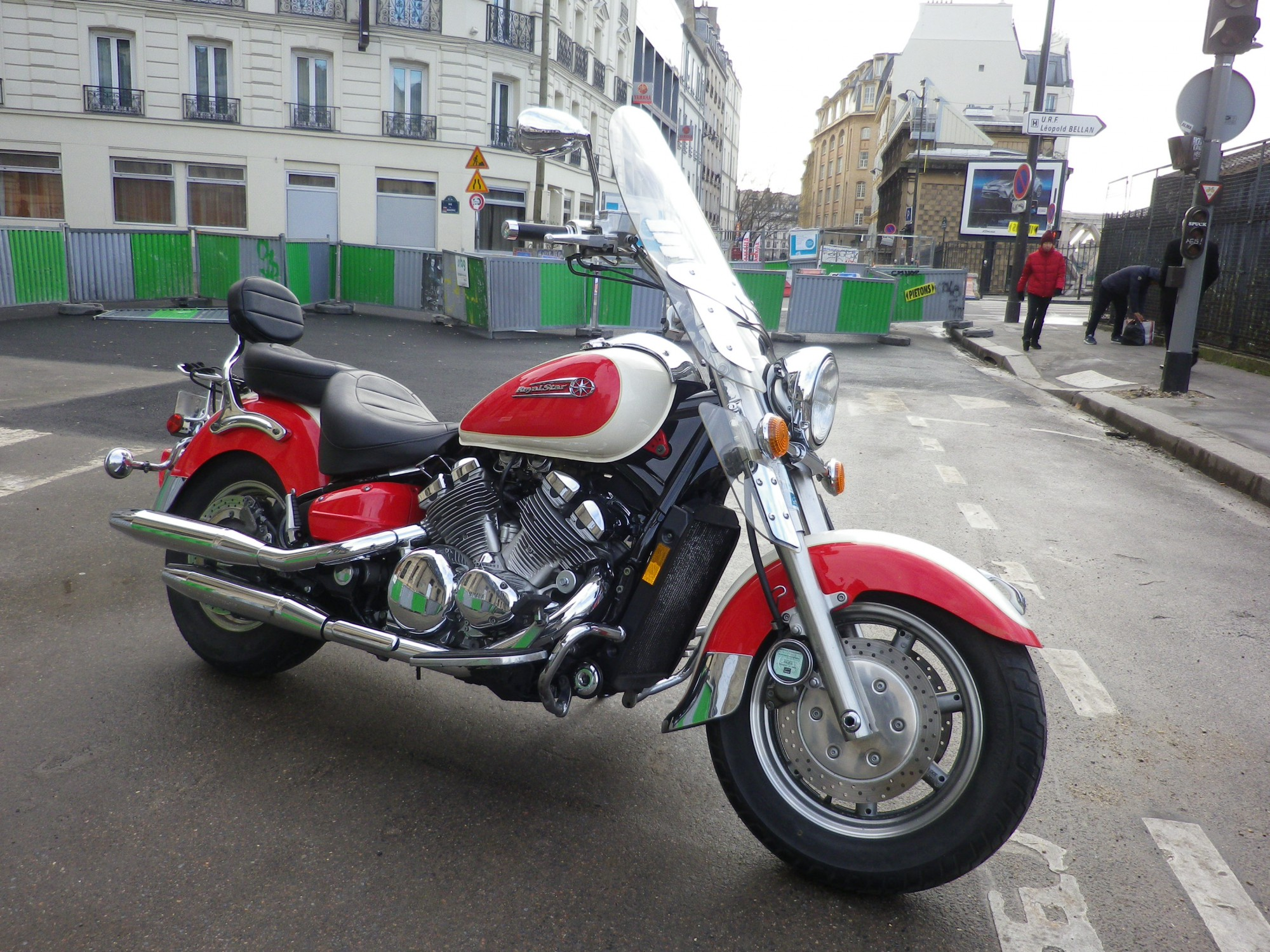 YAMAHA 1300 XVZ 1300 ROYALE STAR