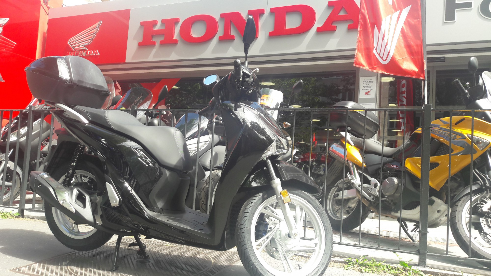 HONDA 125 SH 125 INJECTION