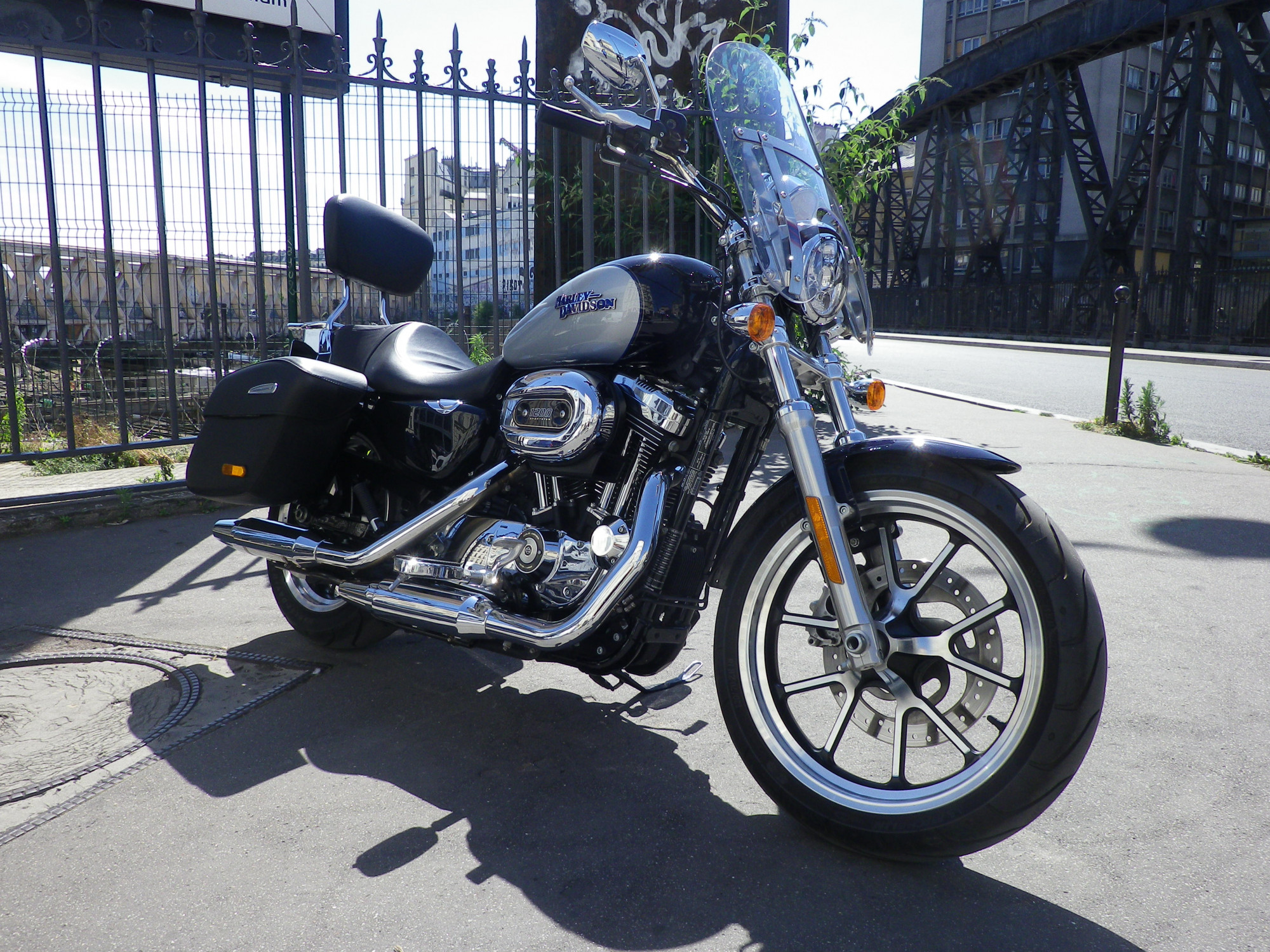 HARLEY DAVIDSON 1200 XL 1200 T SUPERLOW