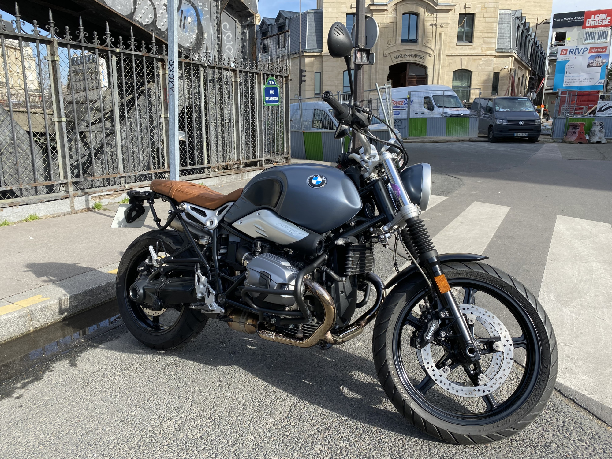 BMW 1200 R 1200 NINE T SCRAMBLER