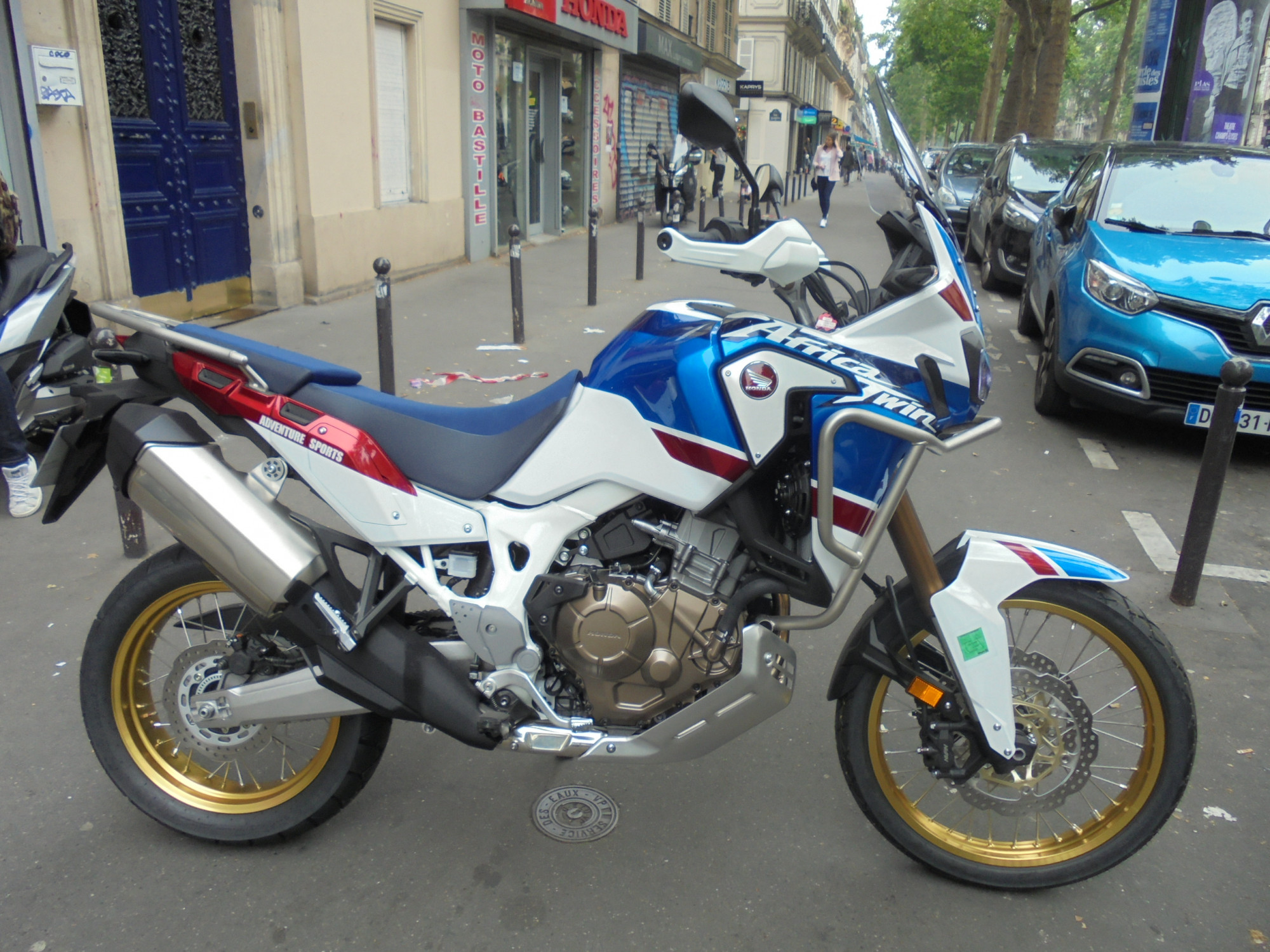 HONDA 1000 AFRICA TWIN CRF1000L STD