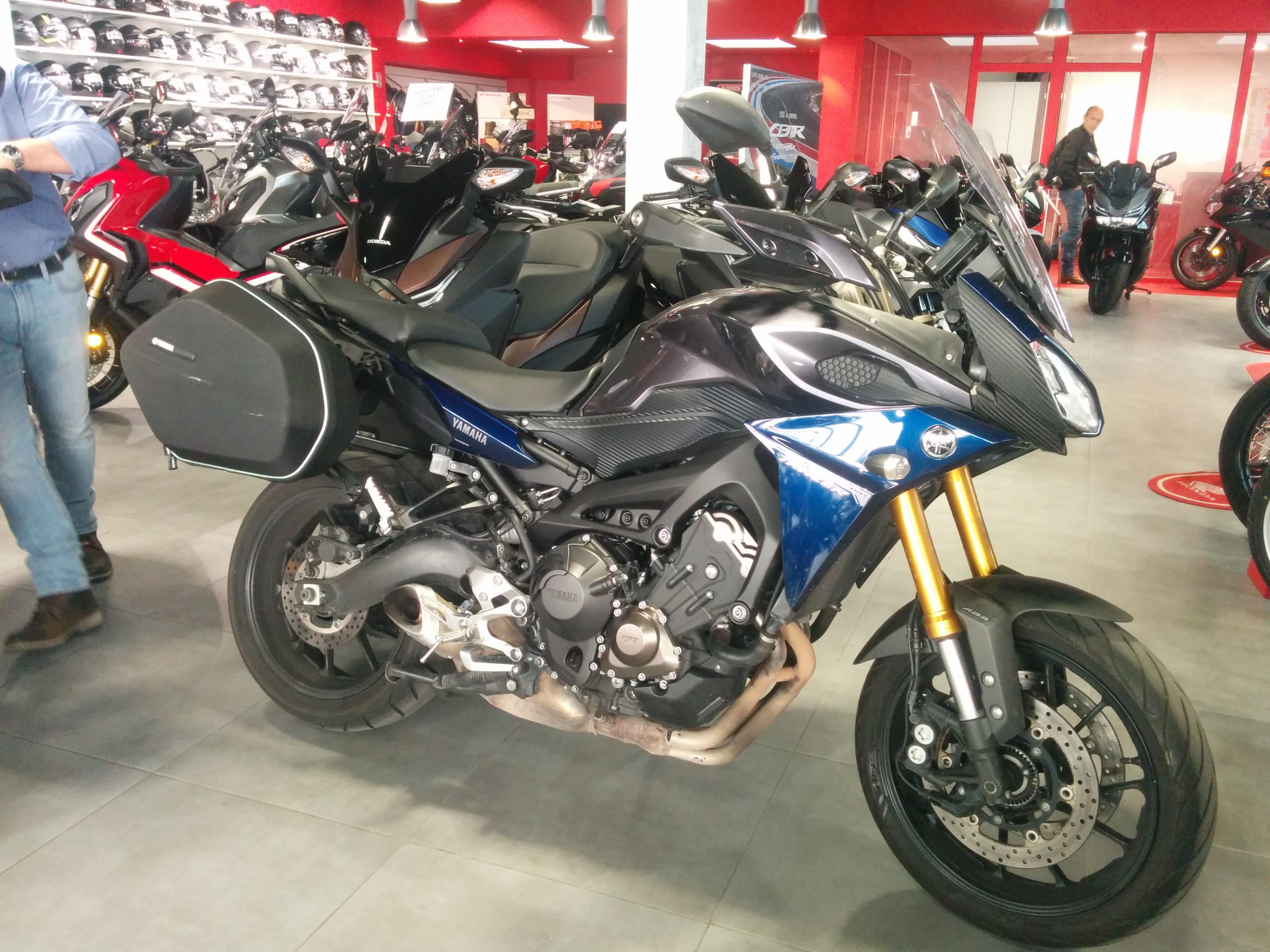 YAMAHA 850 MT09 TRACER ABS