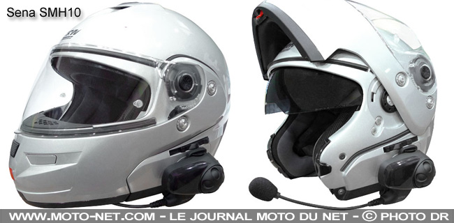 casque moto avec ecouteur integre. Black Bedroom Furniture Sets. Home Design Ideas