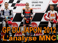 Grand Prix du Japon Moto GP : déclarations et analyse