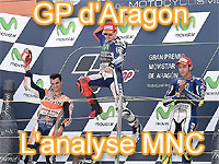 Déclarations et analyse du GP d'Aragon MotoGP
