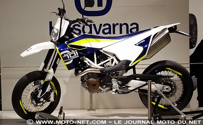 nouveaut s nouveaut s 2015 eicma une 690 smc la sauce husqvarna et deux concepts. Black Bedroom Furniture Sets. Home Design Ideas