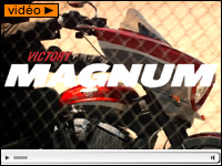 Victory Magnum : le bagger Cross Country customisé
