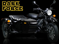 Ural Dark Force, le côté obscur du side-car...