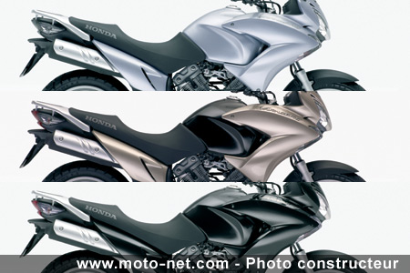 nouveaut s honda d voile sa nouvelle 600 hornet. Black Bedroom Furniture Sets. Home Design Ideas