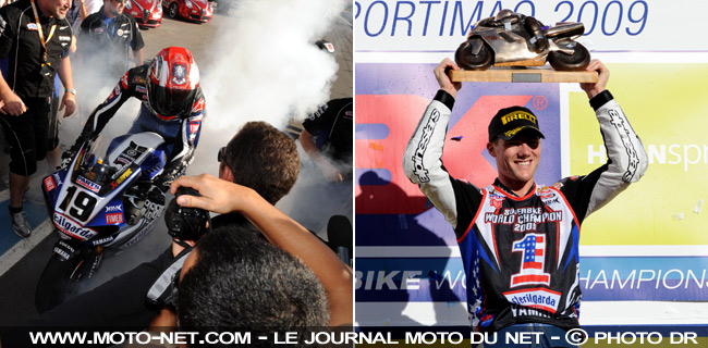 Ben Spies -  Mondial Superbike Portugal 2009 : Ben Spies est champion du monde de Superbike !