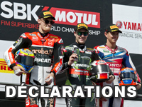 Déclarations des pilotes World Superbike à Phillip Island