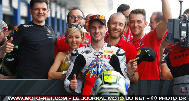 Cluzel et son Team16  - L'analyse MNC du World Superbike en Thaïlande