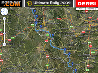 Ultimate Défi : le parcours de l'Ultimate Rally en 125 !