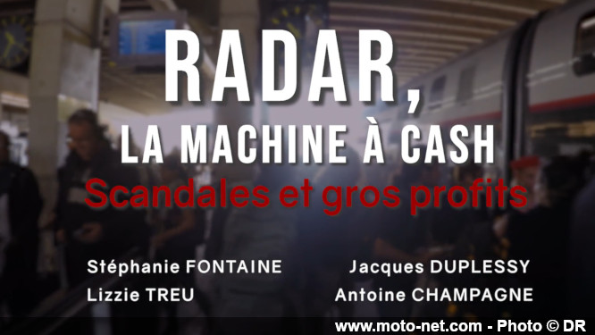 Film documentaire : Radars, la machine à cash