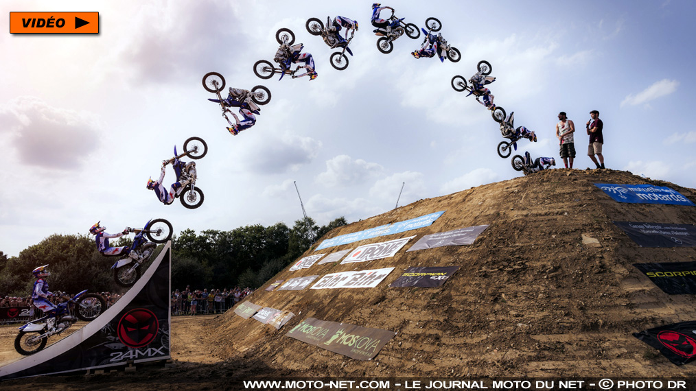 "Moto freestyle : Tom Pagès remporte ""son"" Finist'Air Show 2017"