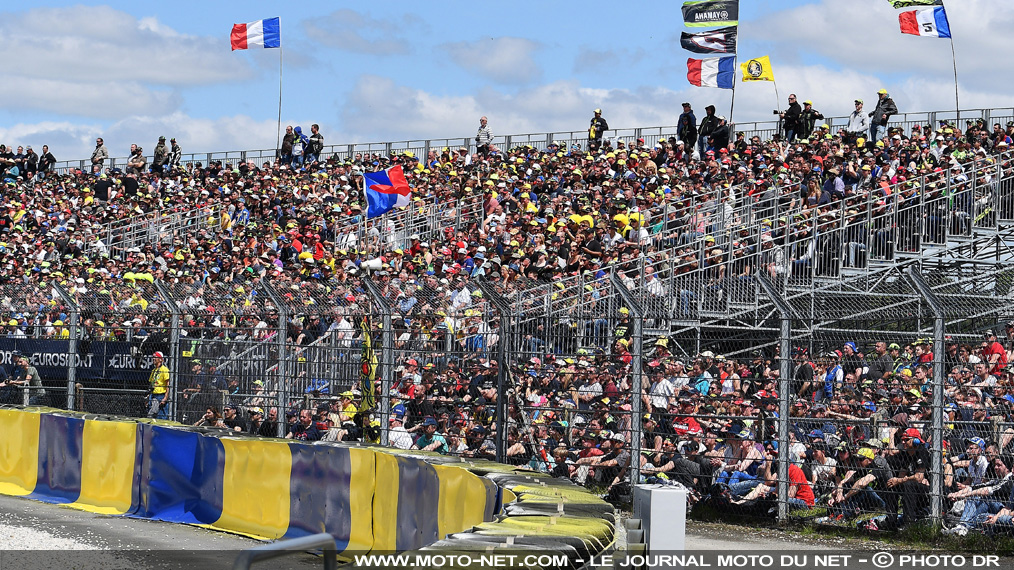 Record d'affluence : le GP de France MotoGP leader à la mi-saison !