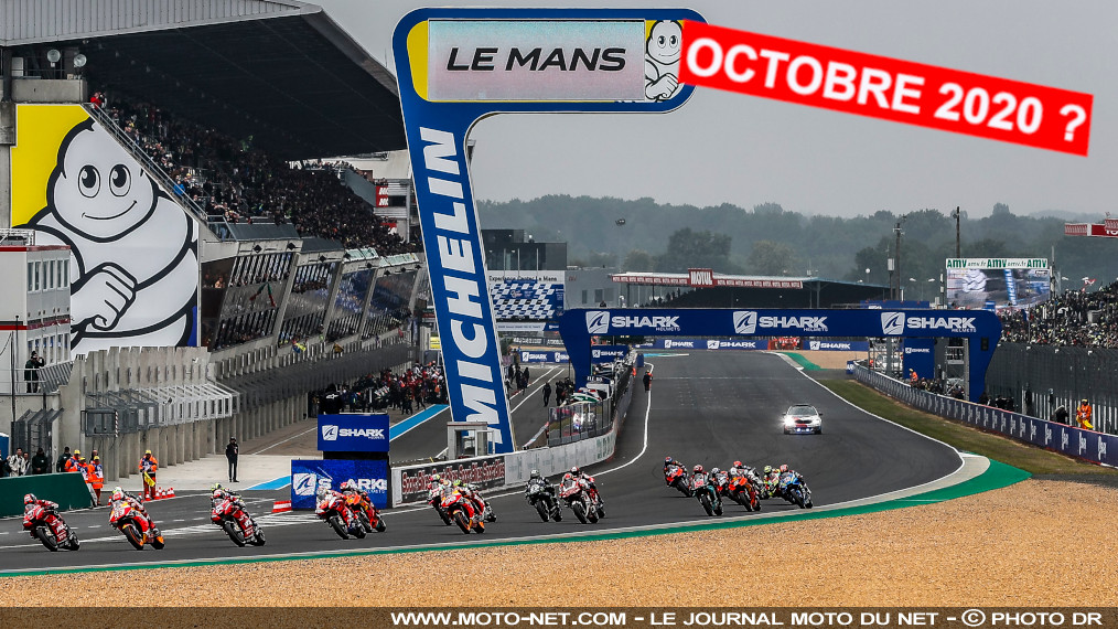 Retour du Grand Prix de France Moto GP en octobre 2020 ?