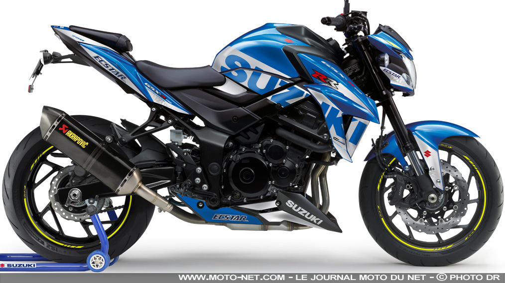 Suzuki France propose sa version MotoGP 2020 de la GSX-S750