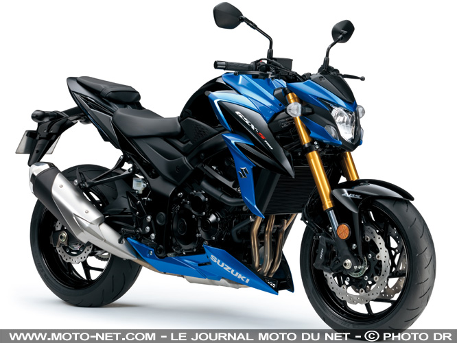 roadster nouvelle suzuki gsx s750 premi res informations. Black Bedroom Furniture Sets. Home Design Ideas