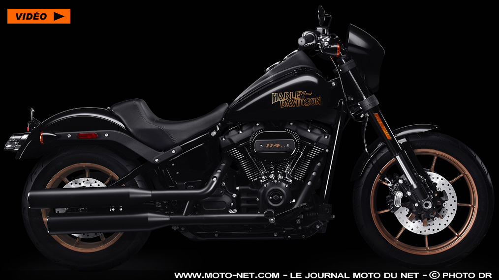 West Coast Cruiser : Harley-Davidson relance la Low Rider S