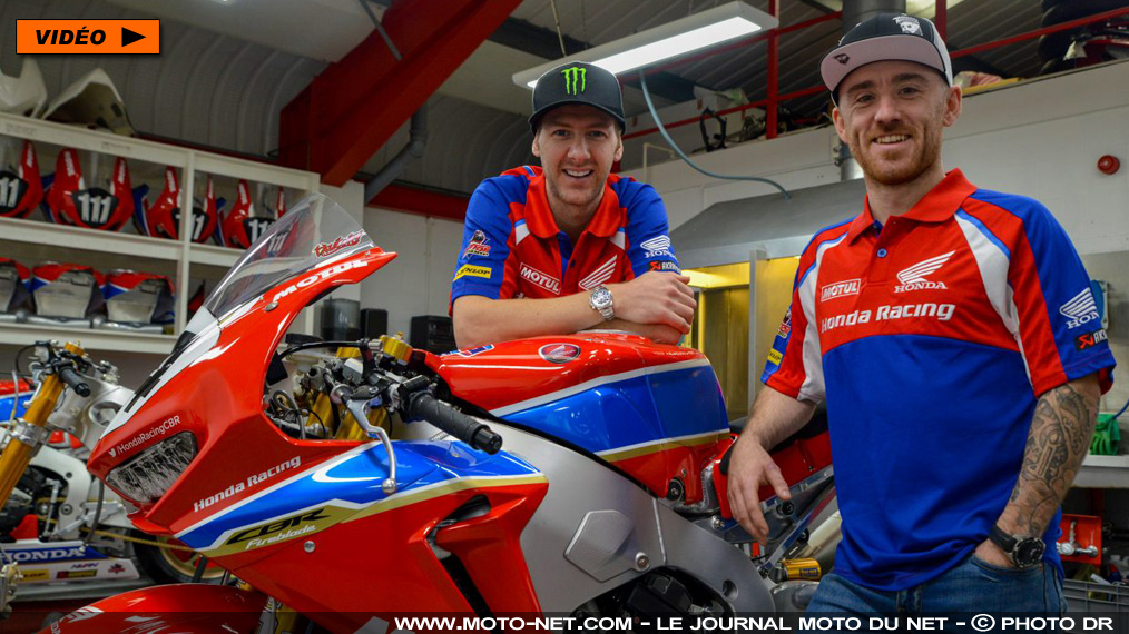 Tourist Trophy & Co : Honda recrute Hutchinson et Johnston pour 2018