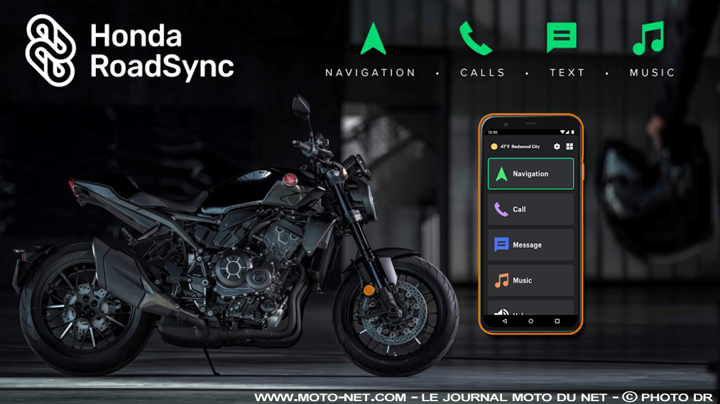 Application mobile Honda Roadsync pour motos et scooters