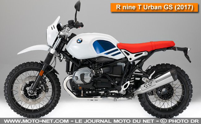 Bmw R Ni  2017 Et R Ni  Urban Gs Premieres Informations on memes de motos