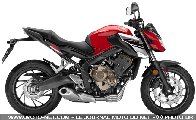 roadster honda cb650f 2017 premi res informations. Black Bedroom Furniture Sets. Home Design Ideas