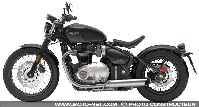 nouveaut s triumph bonneville bobber 2017 premi res informations. Black Bedroom Furniture Sets. Home Design Ideas