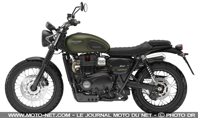 nouveaut s nouvelle triumph street scrambler 2017 premi res informations. Black Bedroom Furniture Sets. Home Design Ideas