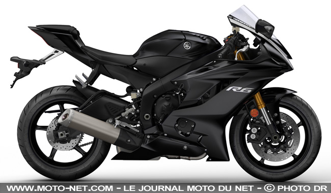 sportive nouvelle yamaha r6 2017 premi res informations photos et vid o. Black Bedroom Furniture Sets. Home Design Ideas