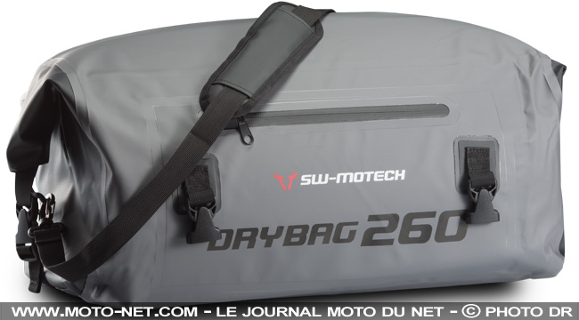 bagagerie nouveau sac moto tanche sw motech drybag 260. Black Bedroom Furniture Sets. Home Design Ideas