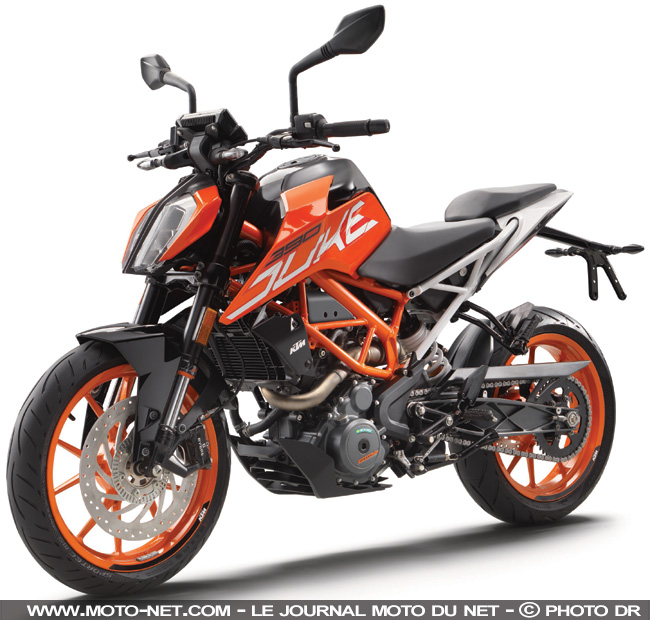 roadster essai ktm 390 duke le permis a2 avec classe et sans bridage. Black Bedroom Furniture Sets. Home Design Ideas