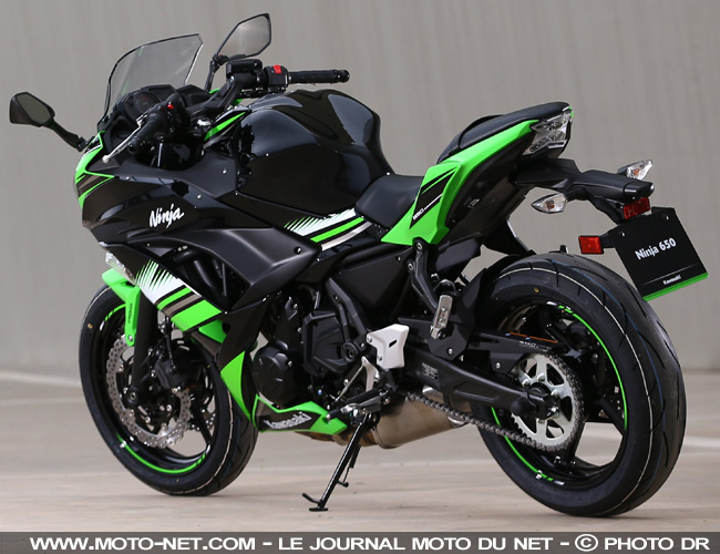sportive essai ninja 650 kawasaki camoufle sa routi re en sportive. Black Bedroom Furniture Sets. Home Design Ideas