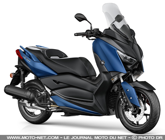 scooter essai yamaha xmax 125 le retour du roi des scooters 125. Black Bedroom Furniture Sets. Home Design Ideas