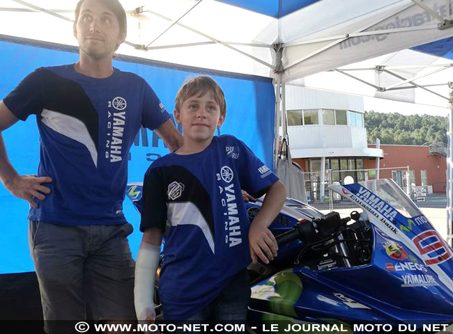 Détection des futurs talents de la moto : MNC en direct du Yamaha Blu Cru Camp