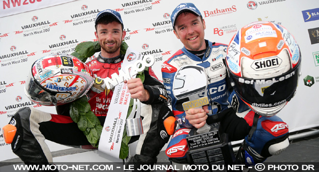 North West 200 2017 : Irwin et Ducati battent les stars Seeley et BMW