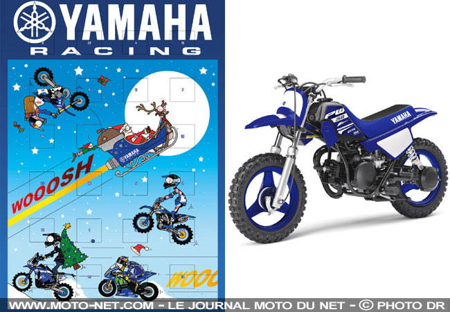 soci t calendrier de l 39 avent yamaha racing 2017. Black Bedroom Furniture Sets. Home Design Ideas