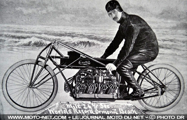 Motos made in USA : Confederate rend les gaz, Curtiss met les watts