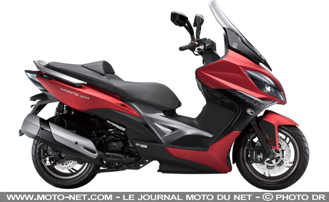 scooters nouveaut s scooters 2017 kymco xciting 400 et downtown 125 350 euro4. Black Bedroom Furniture Sets. Home Design Ideas