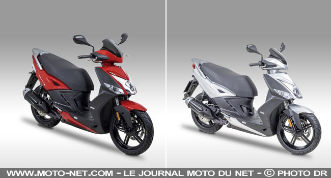 scooters agility city 16 like et people s les scooters 125 cc kymco passent euro4. Black Bedroom Furniture Sets. Home Design Ideas