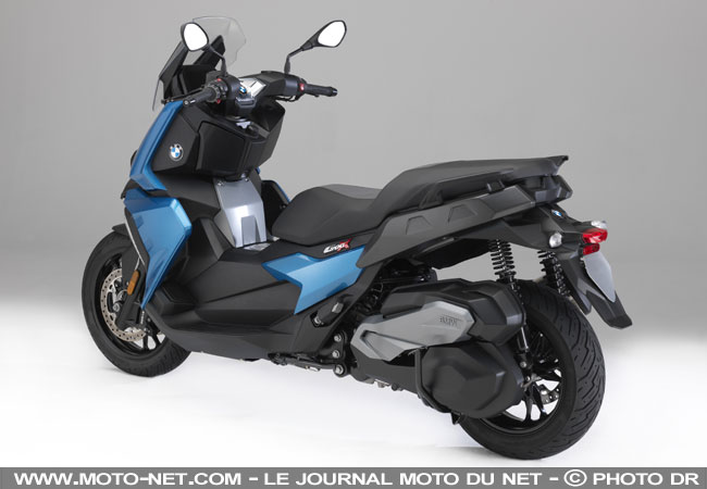 scooters bmw c 400 x le scooter sino allemand. Black Bedroom Furniture Sets. Home Design Ideas