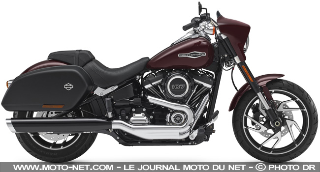 Harley-Davidson Sport Glide 2018 : Switchback to the future