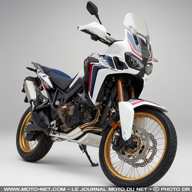 trail honda crf1000l africa twin 2018 le maxi trail. Black Bedroom Furniture Sets. Home Design Ideas