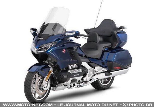 routi re premi res photos et infos sur les honda goldwing et bagger 2018. Black Bedroom Furniture Sets. Home Design Ideas