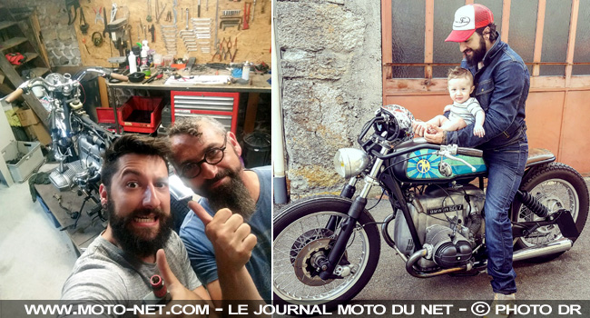 Interview French Monkeys : préparateurs moto de (grand) père en (petit) fils !