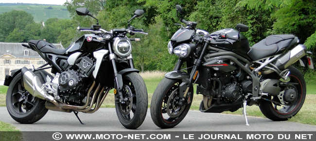 Duel Honda CB1000R 2018 Vs Triumph Speed Triple RS : duo chic pour duel de choc
