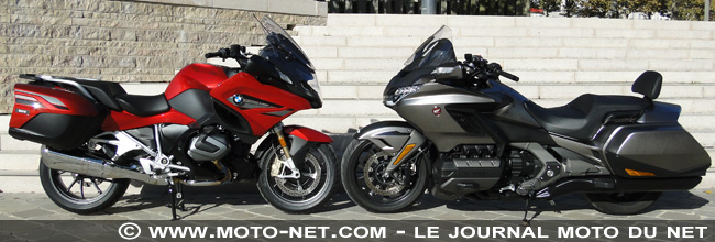 Duel BMW R1250RT Vs Honda GoldWing : Nouvelle donne en Moto GT
